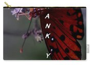 Thank You Card - Butterfly Carry-all Pouch