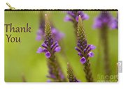 Thank You Wildflowers Carry-all Pouch