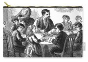 Thanksgiving Dinner, 1873 Carry-all Pouch