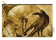That Which Lies Behind In Sepia Carry-all Pouch