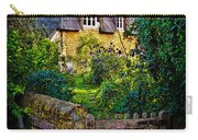 Thatched Roof Country Home Carry-all Pouch