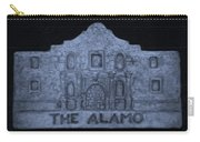 The Alamo In Cyan Carry-all Pouch