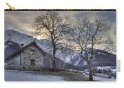 The Alps In Winter Carry-all Pouch