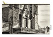 The Ambler Theater In Sepia Carry-all Pouch
