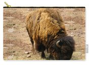 The American Buffalo Carry-all Pouch