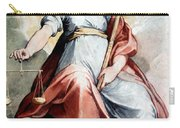The Angel Of Justice Carry-all Pouch