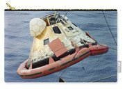 The Apollo 8 Capsule Being Hoisted Carry-all Pouch