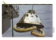 The Apollo 9 Command Module Is Hoisted Carry-all Pouch
