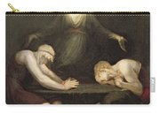 The Appearance Of Christ At Emmaus Carry-all Pouch