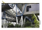 The Area Below The Capsules Of The Singapore Flyer Carry-all Pouch