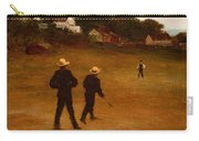 The Ball Players Carry-all Pouch by William Morris Hunt