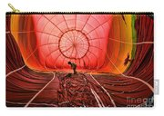 The Balloonist - Inside A Hot Air Balloon Carry-all Pouch