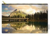 The Banff Bridge Reflected Carry-all Pouch