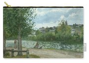 The Banks Of The Oise At Pontoise Carry-all Pouch