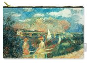 The Banks Of The Seine At Argenteuil Carry-all Pouch