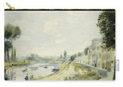 The Banks Of The Seine At Bougival Carry-all Pouch