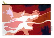 The Baseball Pitcher Carry-all Pouch by David Lee Thompson