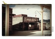 The Bath House In Old Tuscon Arizona Carry-all Pouch