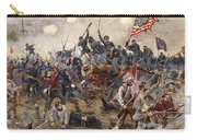 The Battle Of Spotsylvania Carry-all Pouch by Henry Alexander Ogden