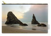The Beaches Of Bandon Oregon Carry-all Pouch