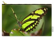 The Beautiful Color Of A Malachi Butterfly Carry-all Pouch