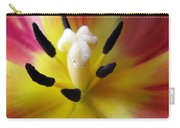 The Beauty From Inside Square Format Carry-all Pouch