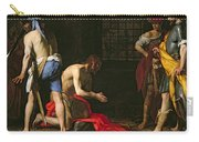 The Beheading Of John The Baptist Carry-all Pouch