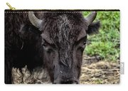 The Bison Stare Carry-all Pouch