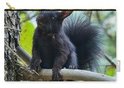 The Black Abert's Squirrel Carry-all Pouch
