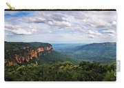 The Blue Mountains - Panoramic View Carry-all Pouch