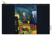 The Blue Room Carry-all Pouch by Mona Edulesco
