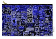 The Blues In Memphis Carry-all Pouch by Carol Groenen