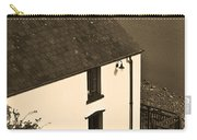 The Boathouse At Laugharne Sepia Carry-all Pouch