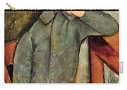 The Boy Carry-all Pouch by Amedeo Modigliani