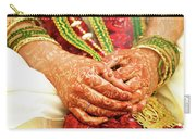 The Bride's Hands Carry-all Pouch