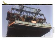 The Bridge Building Platform Being Used In The Construction Of The Delhi Metro Carry-all Pouch