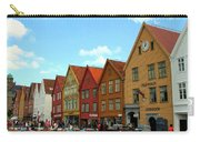 The Bryggen District Of Bergen Carry-all Pouch