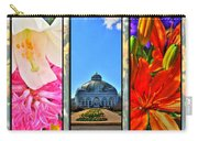The Buffalo And Erie County Botanical Gardens Triptych Series Carry-all Pouch