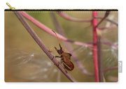The Bug With Fireweed Seeds Carry-all Pouch
