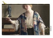 The Canary Carry-all Pouch by William McGregor Paxton