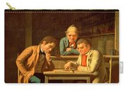 The Checker Players Carry-all Pouch by George Caleb Bingham
