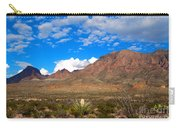 The Chisos Mountains Big Bend Texas Carry-all Pouch