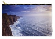 The Cliffs Of Moher, County Clare Carry-all Pouch
