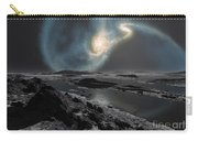 The Collision Of The Milky Way Carry-all Pouch by Ron Miller