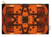The Color Orange Mandala Abstract Carry-all Pouch
