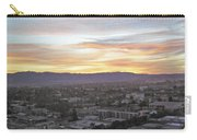 The Colors Of The Sky Over San Jose At Sunset Carry-all Pouch by Ashish Agarwal