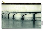 The Confederation Bridge Pei Carry-all Pouch by Edward Fielding