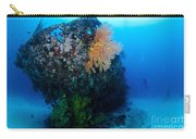 The Coral Encrusted Stern Carry-all Pouch