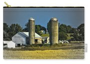 The Cows Have Come Home Carry-all Pouch by DigiArt Diaries by Vicky B Fuller