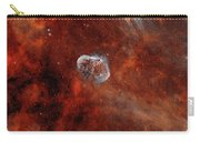 The Crescent Nebula With Soap-bubble Carry-all Pouch
